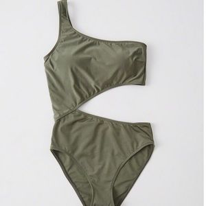 Abercrombie cut out swimsuit
